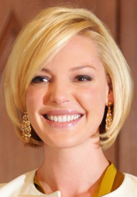 Short Bob Hairstyle for Round Face Shapes – Cute Short Haircuts 2014