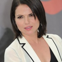 Short Black Bob Haircut for Business Women -Lana Parrilla Short Hairstyles