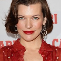 Milla Jovovich Soft Wavy Bob Hairstyle for Homecoming /Getty Images