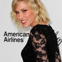 Casual Tousled Wavy Bob Hairstyle with Layers - Natasha Bedingfield Hairstyles