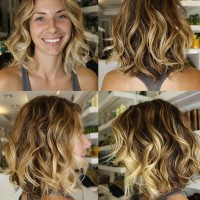Ombre Short Hairstyle for 2014
