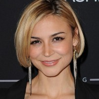Classic Short Bob Hairstyles - Side Part Short Haircut for Women - Samaire Armstrong Hairstyles