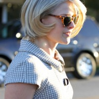 Side View of Ali Larter Bob Hairstyle - Trendy Bob Hairstyles for 2014