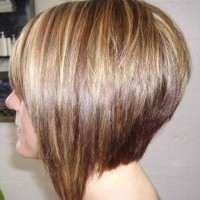 Side View of Bob Hairstyle - Great Short Cut for Thick Hair