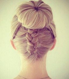 The Donut Bun with Braids