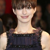 Anne Hathaway: 2014 Short Hairstyles - Shortcut with Bangs