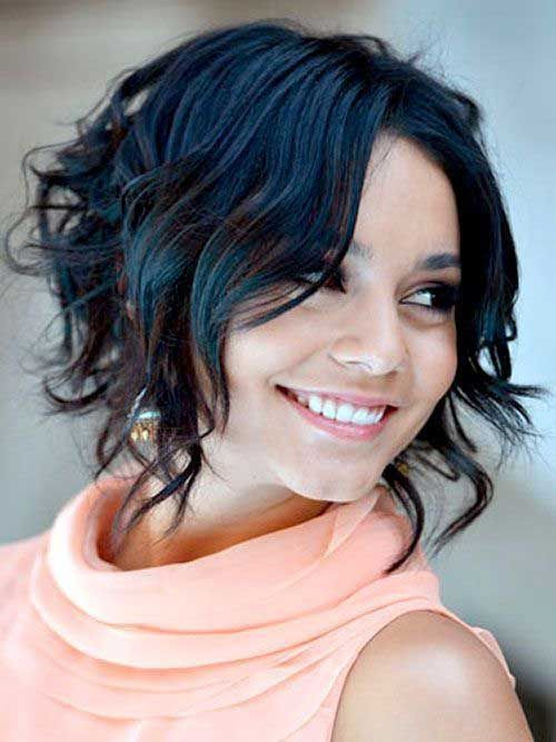Astounding New Do On Pinterest Short Wavy Hairstyles Dianna Agron And Hairstyle Inspiration Daily Dogsangcom