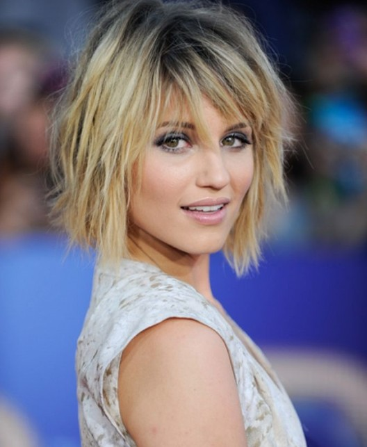 Blonde Short Shag Hairstyle