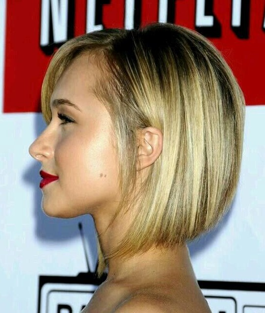 Swell Graduated Bob Haircut Trendy Short Hairstyles For Women Pretty Hairstyles For Men Maxibearus