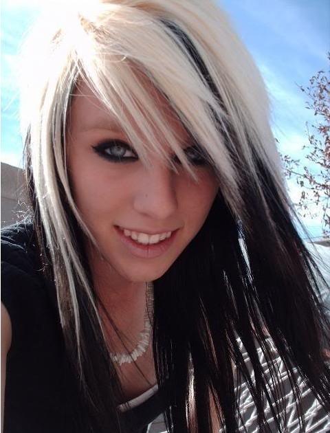 Dark Hair Underneath Blonde Highlights