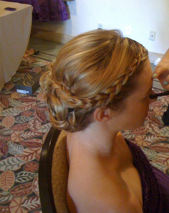 Groovy 10 Braided Updo Hairstyles For 2014 Delicate Braided Updos For Short Hairstyles Gunalazisus