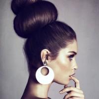 Donut Bun Hairstyle
