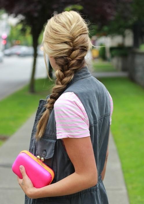 Tremendous Trendy French Braid Hairstyles For 2014 Pretty Designs Short Hairstyles For Black Women Fulllsitofus