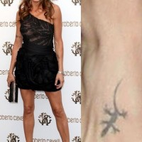 Elisabetta Canalis' Tattoos – Foot Tattoo, Artistic Design