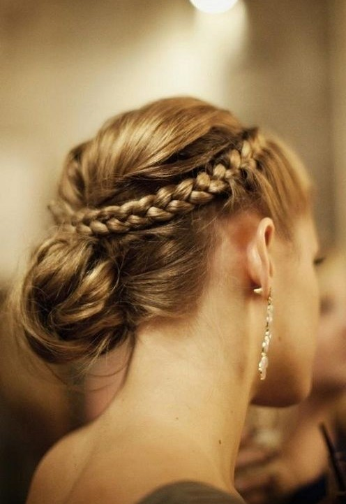 10 Braided Updo Hairstyles For 2014 Delicate Braided Updos