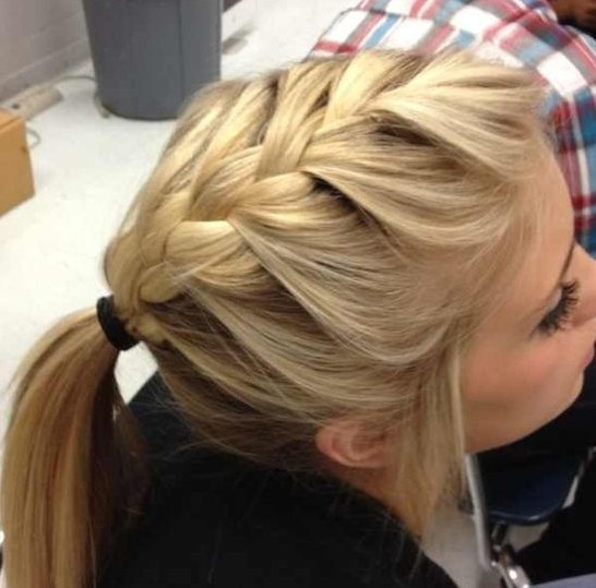 Brilliant Trendy French Braid Hairstyles For 2014 Pretty Designs Hairstyles For Men Maxibearus