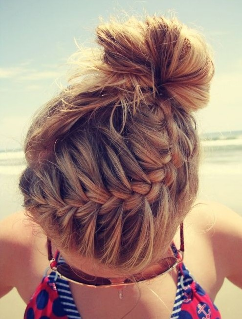 Trendy French Braid Hairstyles For 2014 - Pretty Designs