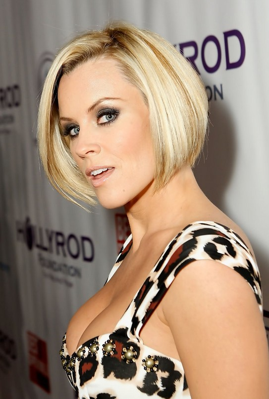 Graduated Bob Haircut - Celebrity Short Hairstyle Trends 2014