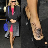 Jenny McCarthy' Tattoos - Beautiful Rose Tattoo