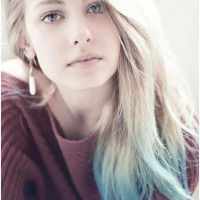 Long Straight Ombre Hairstyle 2014