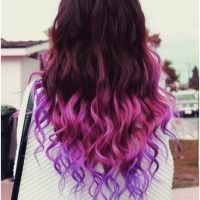 Long Wavy Ombre Hair - Ombre Hairstyle Trends