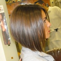 Long Graduated Bob - Side View of Graduated Bob Hairstyle