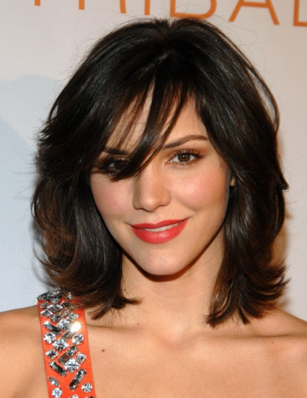 Shoulder Length Thick Hair Short Layered Haircuts 90