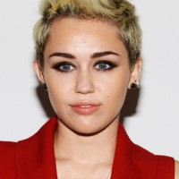 Miley Cyrus: 2014 Short Hairstyles - Fauxhawk