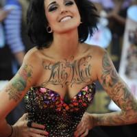Phoebe Dykstra's Tattoos, Sleeve Tattoo