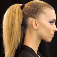 Fluffy Ponytail-Hairstyles