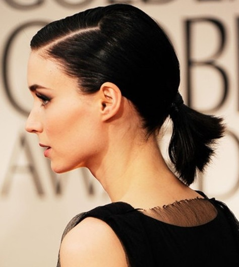 Short Black Pony Easy Hairstyles