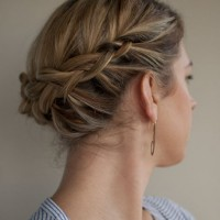Short Hair Updos for Braids