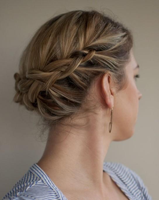 Remarkable 10 Updo Hairstyles For Short Hair Easy Updos For Women Pretty Short Hairstyles For Black Women Fulllsitofus