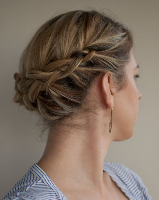 Cool 10 Updo Hairstyles For Short Hair Easy Updos For Women Pretty Short Hairstyles For Black Women Fulllsitofus
