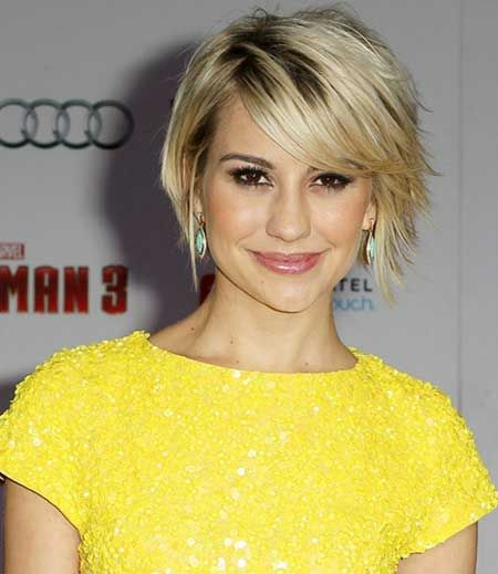 Short Hairstyle with Bangs