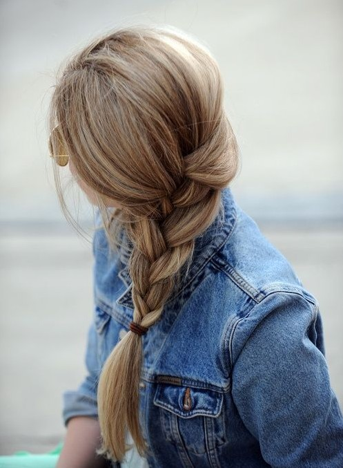 Side French Braided