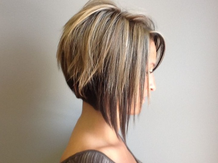 Side View of Graduated Bob Haircut - Cute Short Haircut 2014