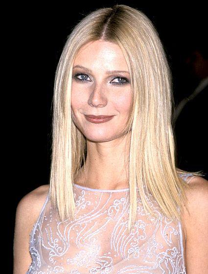 Sleek Blond Hairstyle