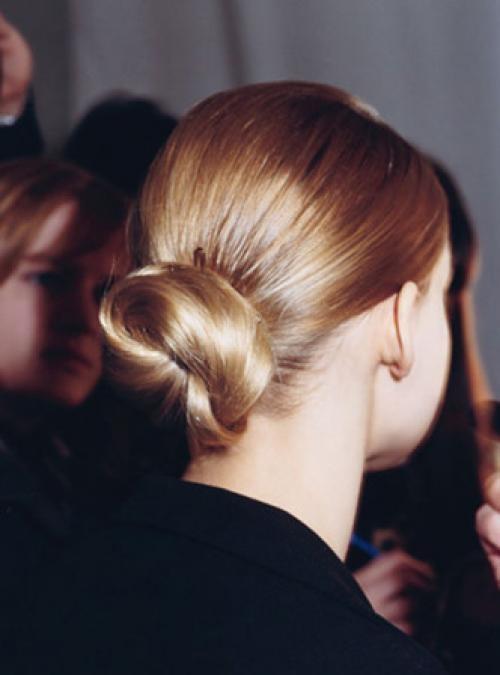 Sleek Bun Hairstyle
