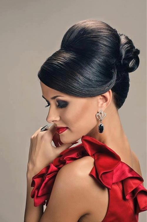 Sleek Updo Hairstyle
