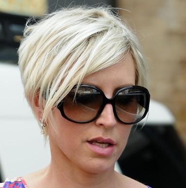 Trendy Short Haircut with Bangs