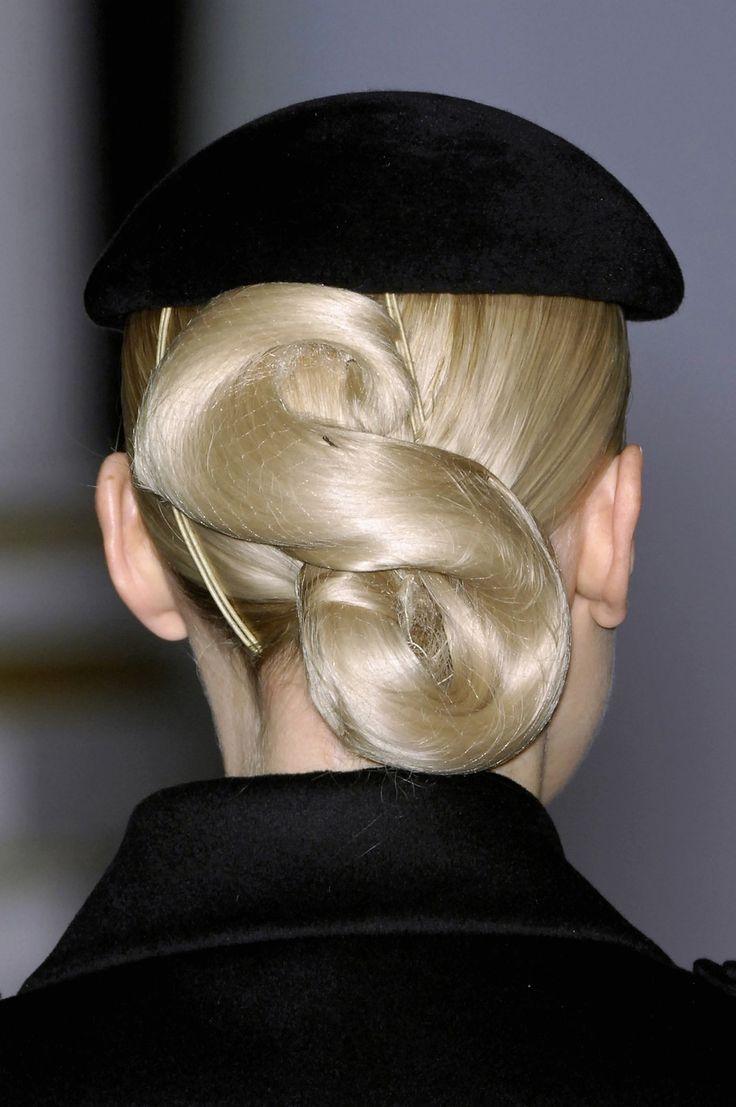 Twisted Bun Hairstyle