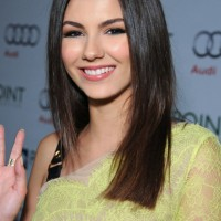 Victoria Justice: 2014 Long Hairstyles - Long Straight Cut