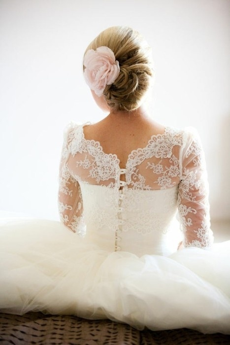 12 romantic wedding hairstyles for beautiful long hair pretty