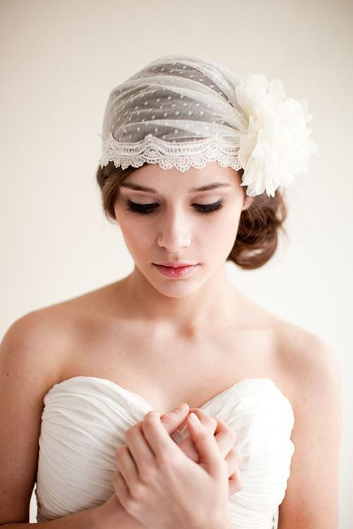 12 romantic wedding hairstyles for beautiful long hair pretty wedding hairstyle with veil crown junglespirit Images