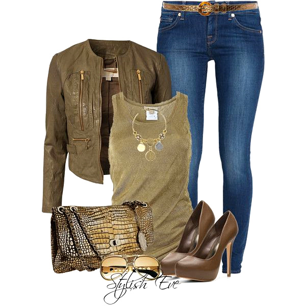 brown cool fashion
