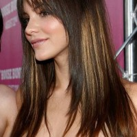 Balayage Hightlighed Long Straight Hair