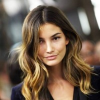 Long Wavy Brown Ombre Hair 2014
