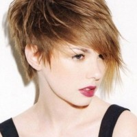 Brown Short Shag Hairstyles