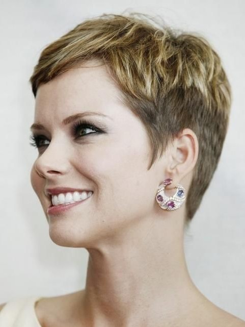 Cute Styles For Really Short Hair 2014 Really Short Hairstyles For Women Over 40  Pretty Designs